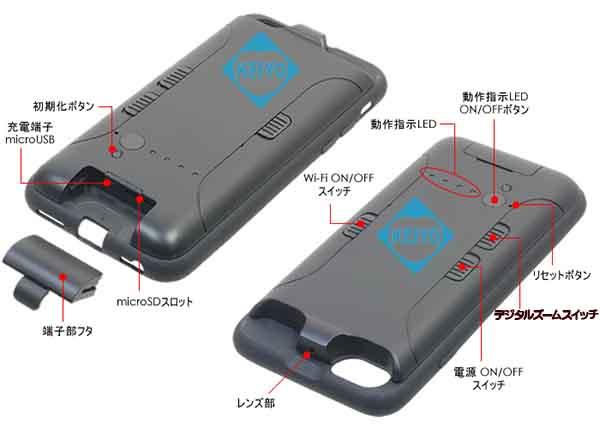 SPX-700W【Wi-Fi機能搭載フルHDビデオカメラ】