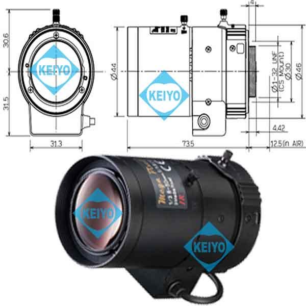 M13VG850IR【8.0-50mm3メガピクセル対応DCアイリス式バリフォーカルレンズ】