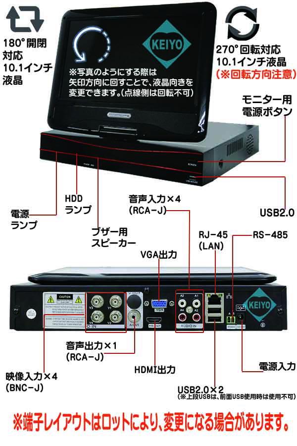 -2004M-XVS【マルチフォーマット対応4TB搭載レコーダー】