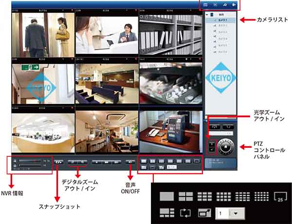 DS-1109Pro+(3TB)【4Kエンコーディング対応3TB搭載カメラ9台用ネットワークレコーダー】