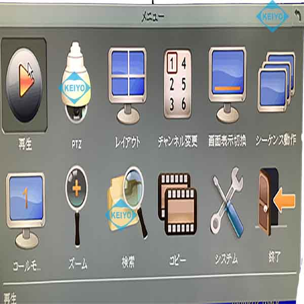 EMV400S-FHD【SDXC256GB対応AHD・CVBSカメラ4台用フルハイビジョンSDカードレコーダー】