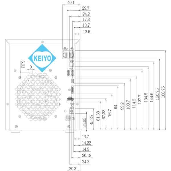 NVR-6132T【4Kカメラ対応4TB搭載カメラ32台用ネットワークレコーダー】