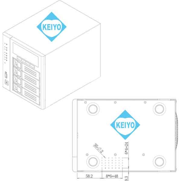 NVR-6132T【4Kカメラ対応12TB搭載カメラ32台用ネットワークレコーダー】