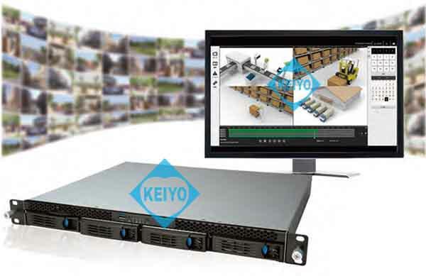 NVR-6132U【4Kカメラ対応24TB搭載カメラ32台用ラックマウントタイプネットワークレコーダー】