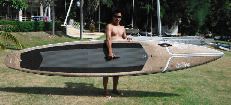 NSP COCO MAT SUP RACER