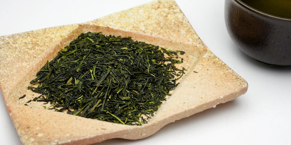 お茶の画像。