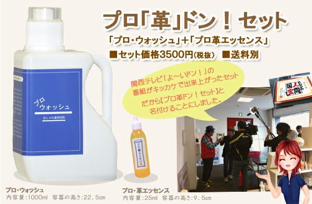 プロ革ドン!セット3300円。