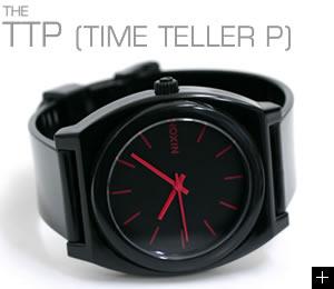 ニクソン 腕時計 TTP(TIME TELLER P) NA119480-00 ブラック/ブライトピンク 説明