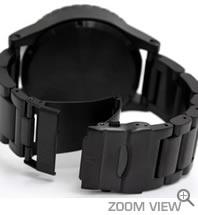 NIXON ニクソン 腕時計 51-30 CHRONO NA083001-00 オールブラック ベルト
