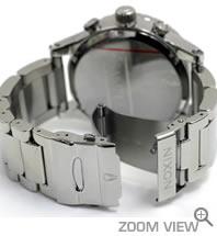 NIXON 腕時計 ニクソン 51-30 CHRONO NA083488-00 ハイポリッシュ/ホワイト ベルト