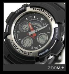 カシオ G-SHOCK 腕時計 デジタル/アナログ コンビモデル AW-590-1AJF CASIO G-ショック 文字盤