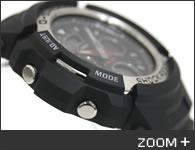 カシオ G-SHOCK 腕時計 デジタル/アナログ コンビモデル AW-590-1AJF CASIO G-ショック サイド2