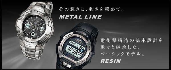 カシオ G-SHOCK 腕時計 デジタル/アナログ コンビモデル AW-590-1AJF CASIO G-ショック イメージ