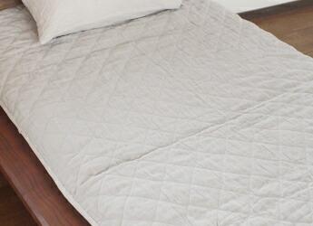 睡楽上布リネン敷きパッド