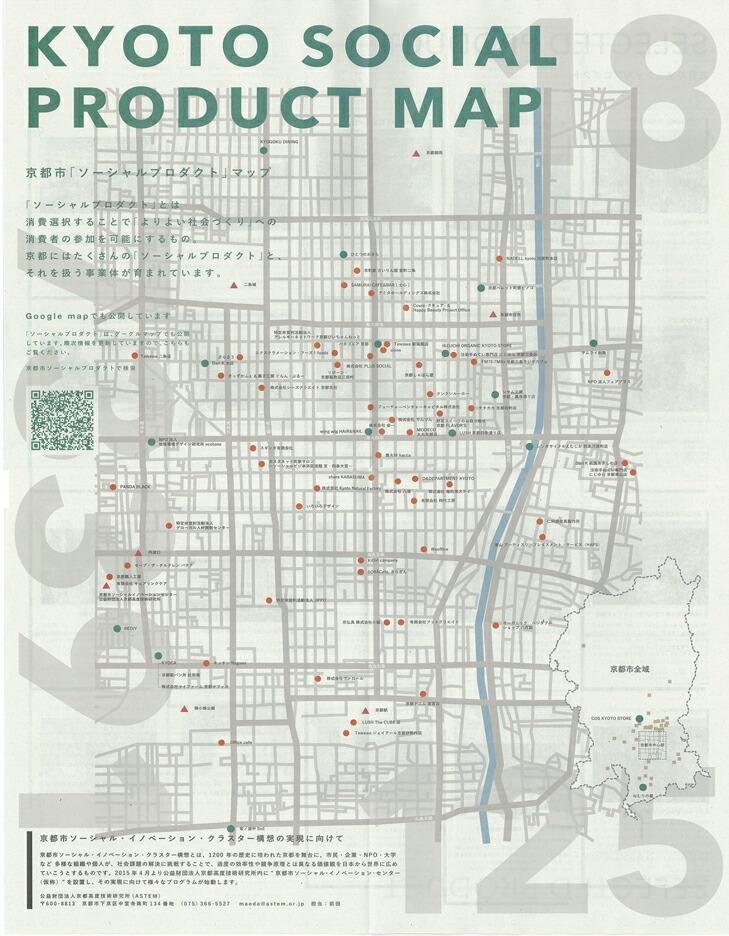 kyoto social product map