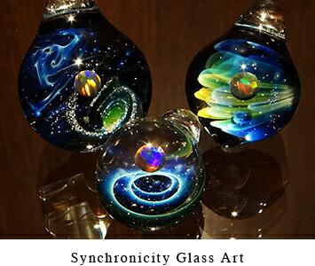 synchronicity glass art/シンクロニシティグラスアート