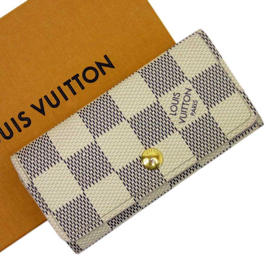 official photos e4ae7 2662f ルイヴィトン Louis Vuitton 財布·ケース 4連キーケース ダミエ ...