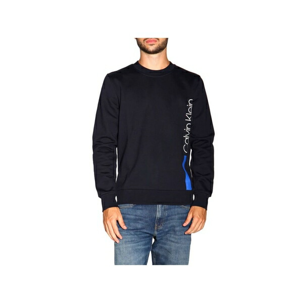 レディース セーター ジャンパー 【Calvin Klein Jeans MONOGRAM BOX  - Jumper - blac カルバンクライン