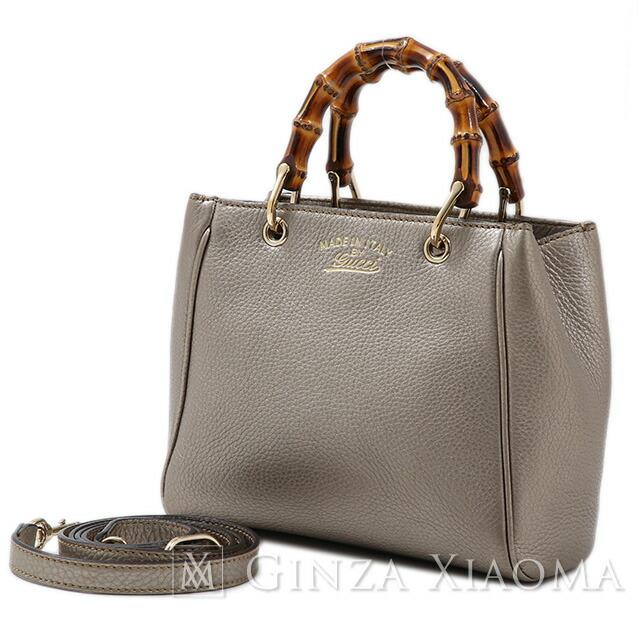 1516ebfc379 GINZA XIAOMA  GUCCI Gucci bamboo mini-bag 2way shoulder bag leather ...