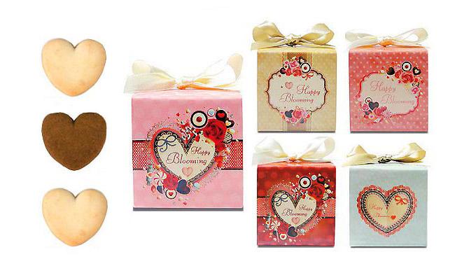 バレンタインの義理チョコがわりにクッキープチギフト