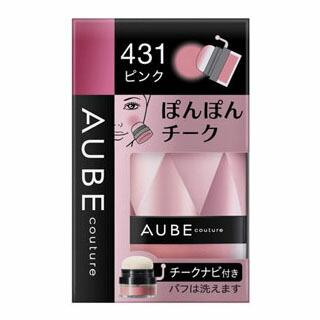 ソフィーナ オーブ クチュール ぽんぽんチーク 431ピンク(明るくかわいいピンク)