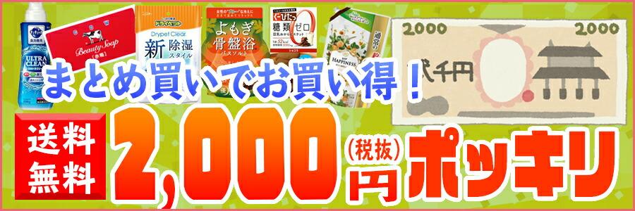 2000円ポッキリ