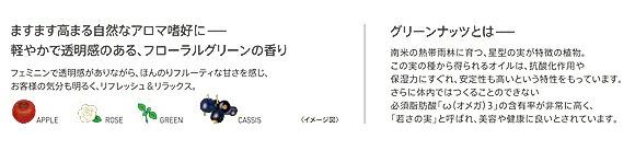 ルベル イオセラムシリーズは軽やかで透明感のあるフローラルグリーンの香り
