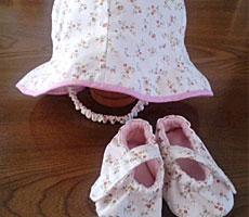ピヨちゃんさん「帽子&シューズ」