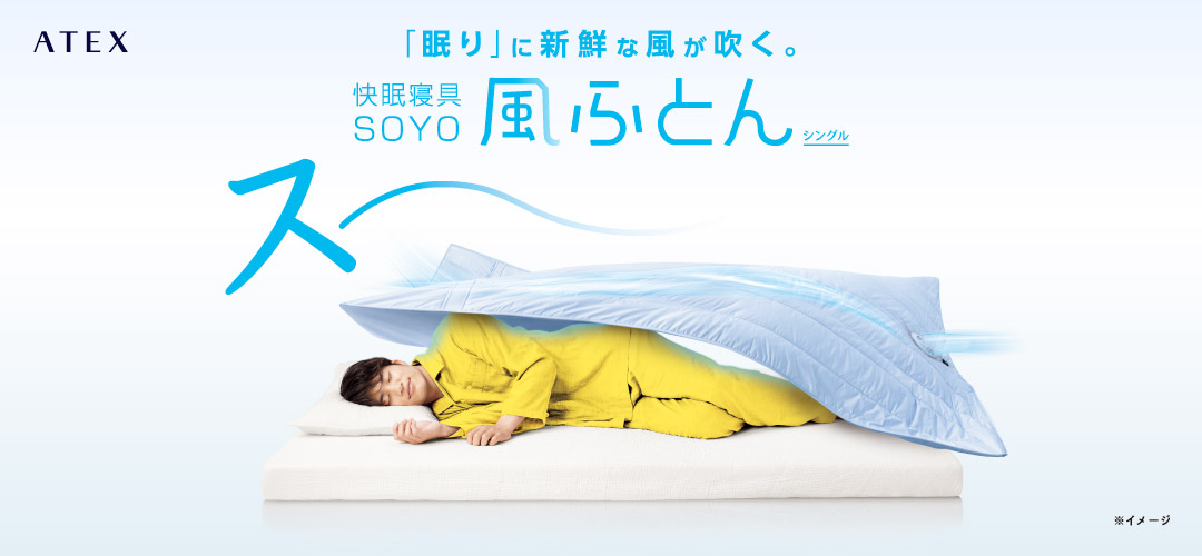 快眠寝具 SOYO 風ふとん AX-BSA620