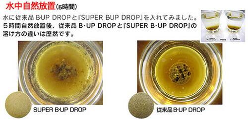 スーパーB・UPドロップ の溶けやすさ