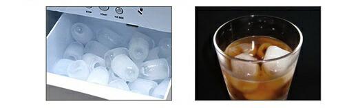 製氷時間(約)10分〜15分の家庭用製氷機