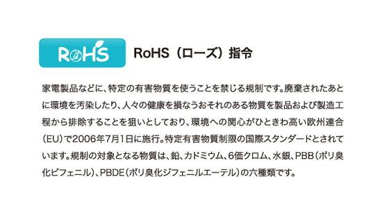 ROHS指令(ローズ指令)