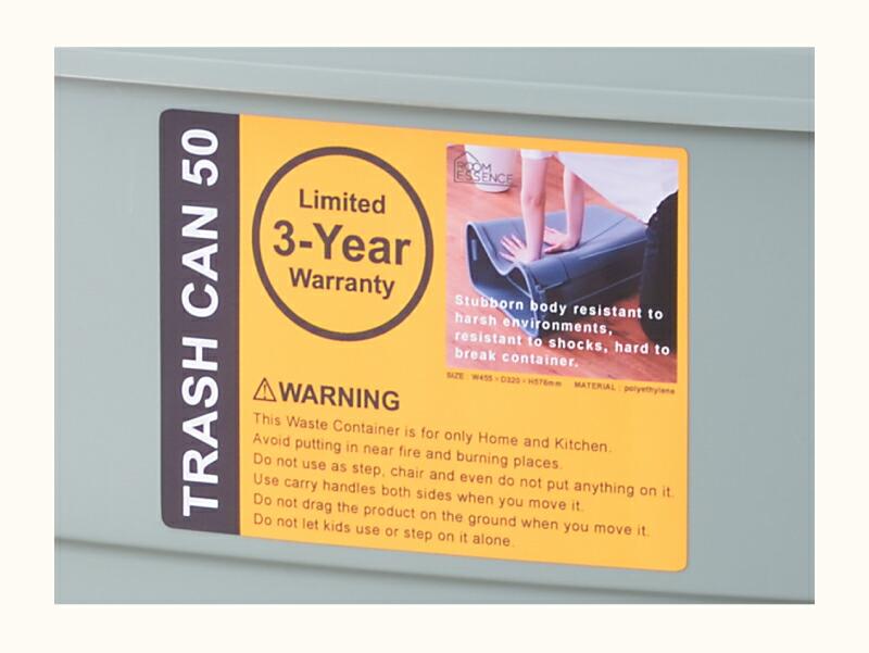 送料無料 ゴミ箱 50L ダストボックス ペールボックス 収納 野外用 ベランダ 工具箱 DIY 分別 ごみ箱 くず入れ ごみ 大容量 丸洗い おしゃれ