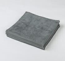 90匁ハンドタオル12枚セット:グレー(全7色)【業務用】【両面パイル地】