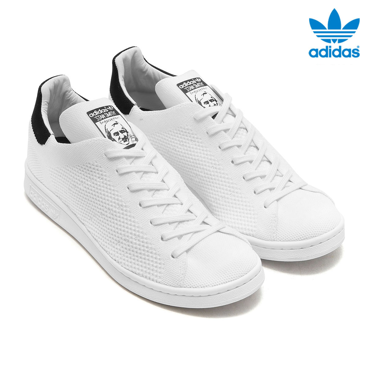 taille 40 51f0c c693b adidas Originals STAN SMITH PK (Adidas originals Stan Smith PK) (Running  White/Running White/Core Black) 17FW-I