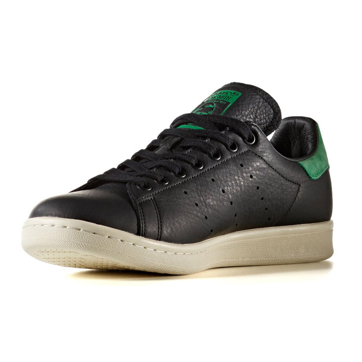 official photos 12011 ea022 adidas Originals STAN SMITH (Adidas originals Stan Smith) CORE BLACK/CORE  BLACK/GREEN 17FW-I
