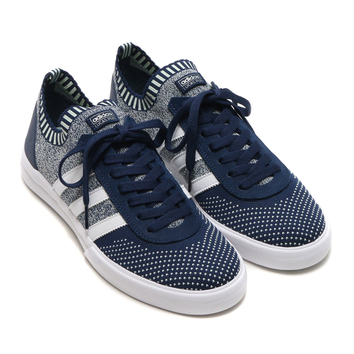 Sneakers of adidas Skateboarding (Adidas skateboarding). The moment when
