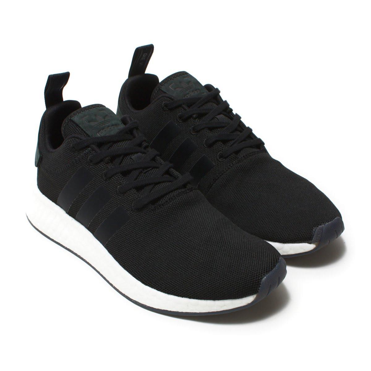 new styles d3e3f 2ed2f adidas Originals NMD_R2 (Adidas originals N M D R2) Core Black/Core  Black/Core Black 18SS-I