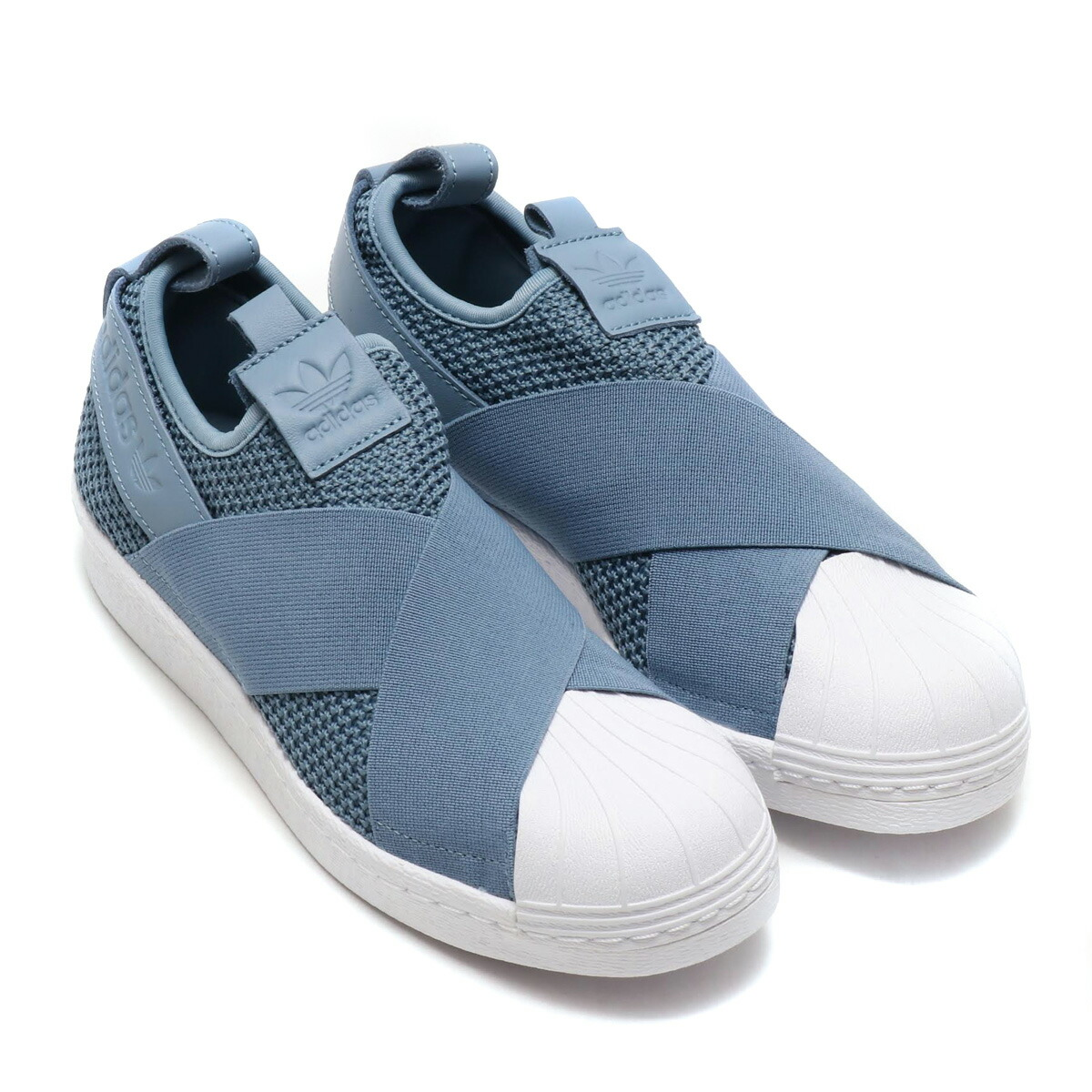online store af667 c8691 adidas SS Slip On W (Adidas superstar slip-ons W) low gray S18/ low gray  S18/ running white 18FW-I