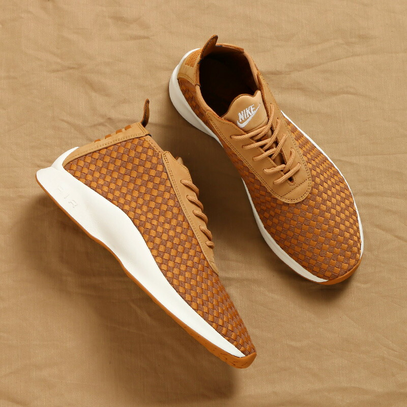 100% authentic 3a180 1561f ☆20・お取り寄せ商品☆ NIKE AIR WOVEN BOOT (ナイキ エア ウーブン ブーツ) (FLAX ALE BROWN-SAIL-GUM  MED BROWN)  メンズ レディース スニーカー 17HO-S
