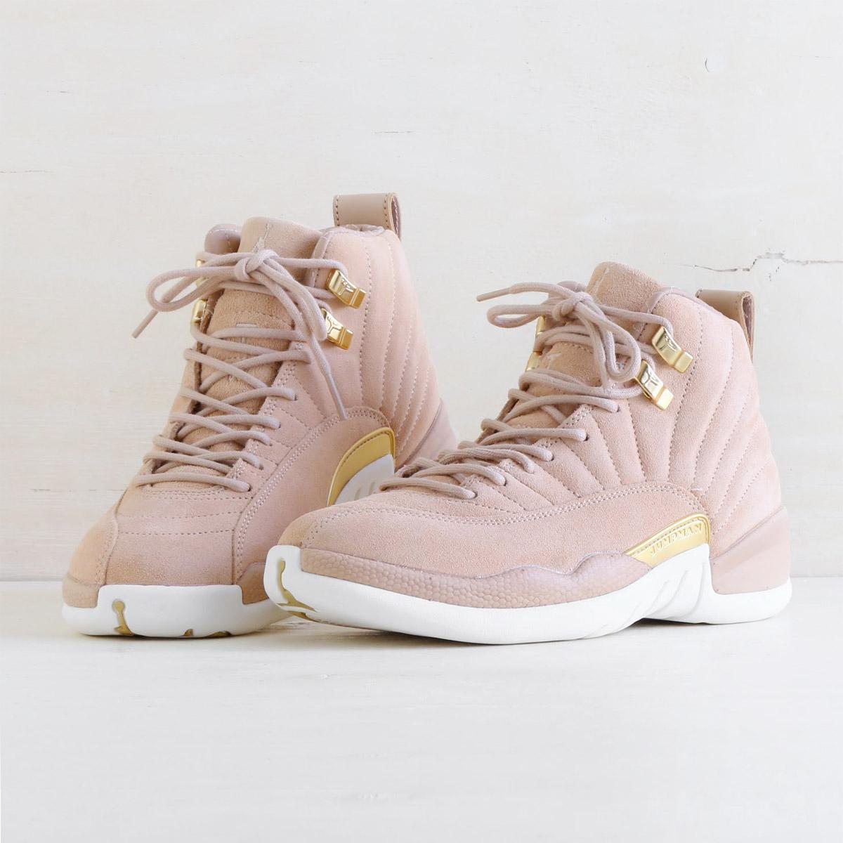 420a79f7f1cc atmos pink  NIKE WMNS AIR JORDAN 12 RETRO (nostalgic Nike women Air ...