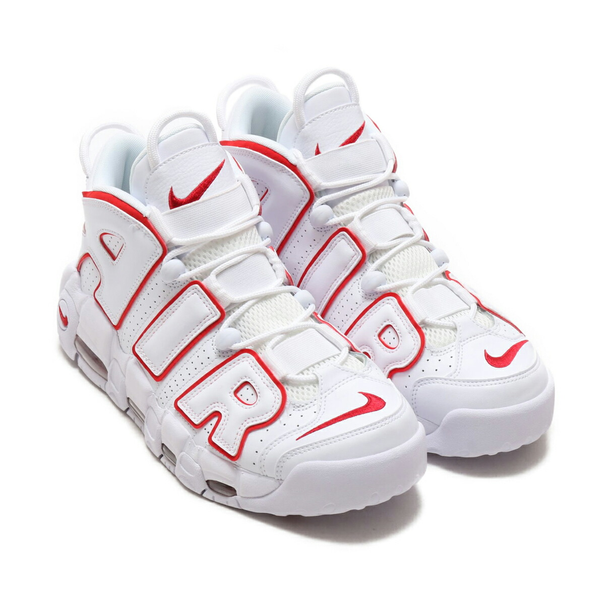 a7ee978fd1fc5 atmos pink  NIKE AIR MORE UPTEMPO  96 (Nike more up tempo 96) WHITE ...