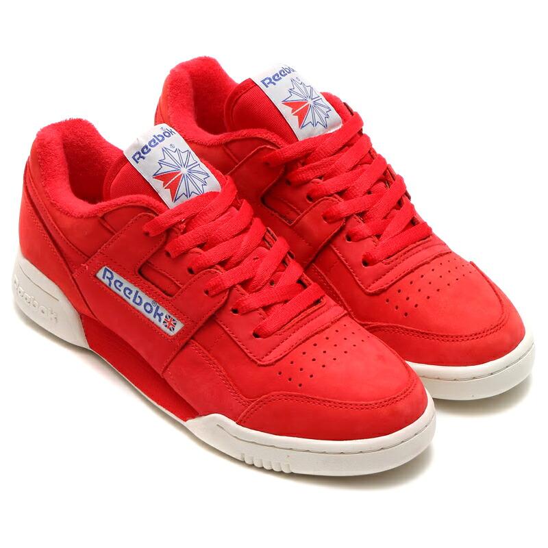 reebok workout plus red