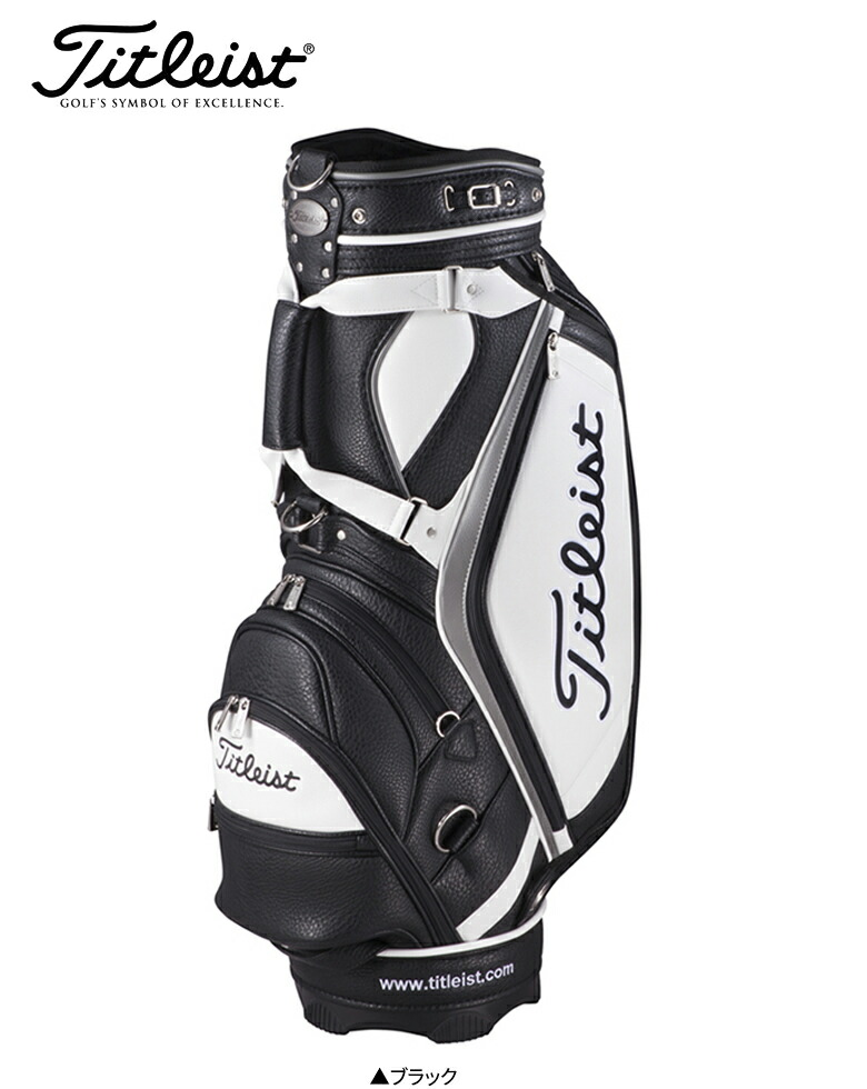 f9d0cedf8f atomicgolf: Titleist golf classical music sports CB823 cart caddie bag  black Titleist Classical Sports golf bag | Rakuten Global Market