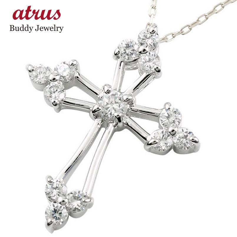 ダイヤモンド ネックレス シルバー ダイヤ ペンダント チェーン 人気