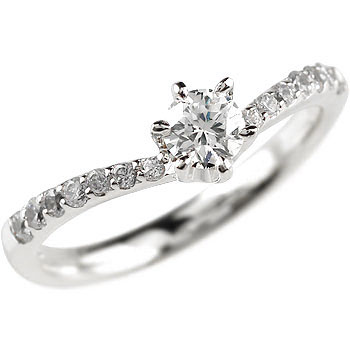 ダイヤモンドリング プラチナ