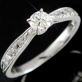 エンゲージリング:結婚指輪:大粒ダイヤモンド:SIクラス:鑑定書付