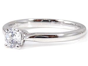 PT900指輪ダイヤモンド0.30ct