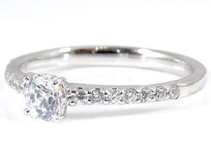 PT900指輪ダイヤモンド0.48ct
