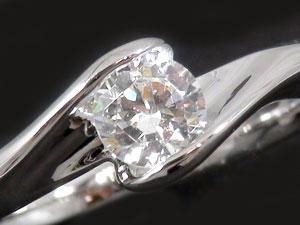 SIクラス一粒ダイヤモンドリング
